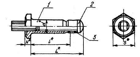 ОСТ 1 11200-73 Заклепки высокого сопротивления с шестигранной головкой