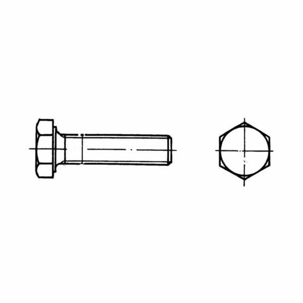 ОСТ 1 31501-80 Винты с шестигранной головкой