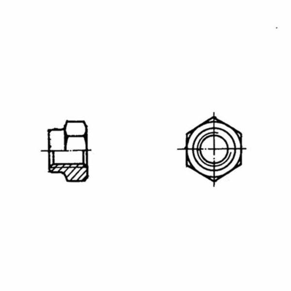 ОСТ 1 33055-80 Гайки шестигранные высокие самоконтрящиеся
