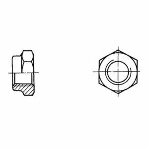 ОСТ 1 33020-80 Гайки шестигранные высокие