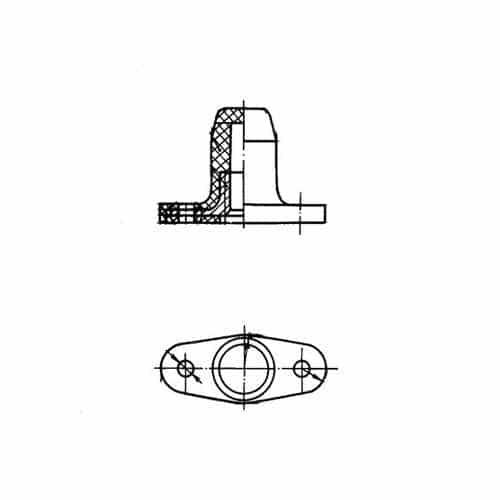ОСТ 1 33080-80 Гайки двухушковые самоконтрящиеся герметичные